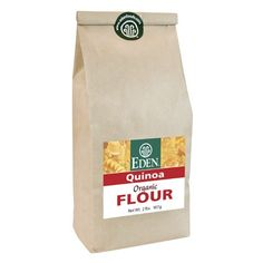 An ancient American staple grain. Grown at over 12,000 feet in the Andes, helping preserve native culture. Small batch flour from Eden's organic, AIB highest rated Michigan mill. It makes delicious whole grain pasta when combined with other flours and is perfect for baking. Complete protein with the best amino acid profile of all grain. The Food and Agricultural Organization and the World Health Organization (FAO/WHO) rates the nutritional quality of quinoa's protein similar to c...