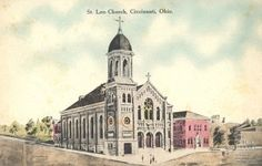 St. Leo Church in Fairmont. It was designed by Cincinnati Architect Anthony Kunz Jr., who specialized in Roman Catholic churches and institutional buildings.