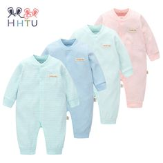6e41f3f56 Cheap baby brand romper, Buy Quality baby rompers directly from China brand baby  romper Suppliers: HHTU Brand Baby Rompers Boys Girls Clothing Quilted Long  ...