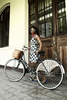 Cycling in Soweto (South Africa)