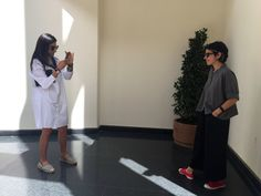 More visitors today- capturing the Bensimon shoe in action. Maya & Nilou.