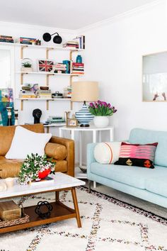 Lucy's Home Makeover / Cup of Jo / Schoolhouse Electric Lafayette Lamp
