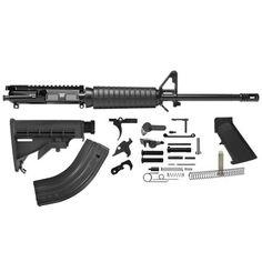 "Del-Ton AR-15 Rifle Kit - 16""  7.62x 39 (Complete Upper, Lower Parts Kit &…"