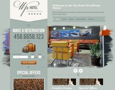 WP hotel WordPress theme is a premium WordPress theme specially build for hotel owners, theme that transforms your WordPress site into a fully functional Hotel web site with custom room booking system.
