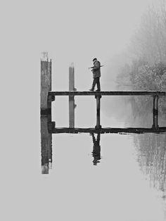 In the fog by Ece Aktansel, via 500px