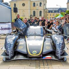 Lotus LMP2 at #LeMans Scrutineering