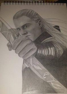 Legolas drawing.