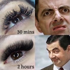 😂😂 this is why we spend time perfecting our sets here at Giáli Lashes. Tag your lash artists so they can have a giggle. Volume Lashes, Makeup On Fleek, Makeup Transformation, Makeup Revolution, Party Makeup, Makeup Videos, Eyelash Extensions, Makeup Junkie, Beauty Tips