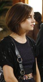 silver hair 90210 season 2  brunette bob