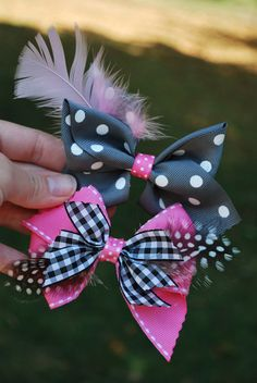 Adorable hairbows! :)