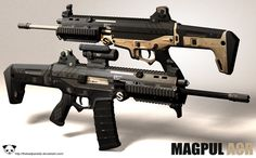 atac-wolfe:   czechbiohazard:  Magpul ACR by *TheBadPanda2  The wants…