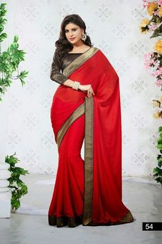 fba01e05ef 23 Best Printed sarees images in 2014 | Printed sarees, Georgette ...