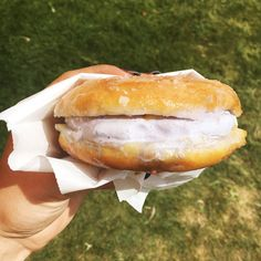 Milky Bun Jasmine Milk Tea Ice Cream w/Captain Crunch from Afters Ice Cream | Here Are The Best Foods We Ate At Coachella