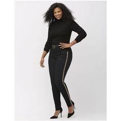 393112eb79ee9 Lane Bryant Plus Size Embellished black skinny jean