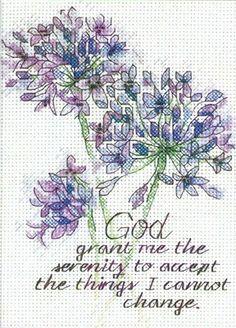 Dimensions 65100, Serenity Prayer (Молитва о спокойствии)