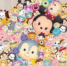 Tanti Tsum Tsum da collezionare della Disney