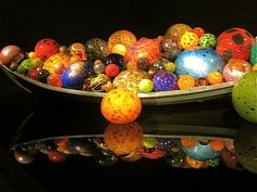 Dale Chihuly Glass Balls
