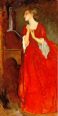 Edwin Austin Abby....The Lady Anne, 1899