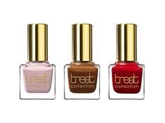 treat collection Natural Nail Polish Trio Neapolitan 3 Count -- Click image to review more details.