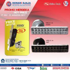 """Dapatkan Produk-Produk Terbaru Kenari Djaja Nikmati Promo Menariknya """"PROMO MERDEKA"""" Dari Tanggal 17 Juli - 31 Agustus 2017.  Kunjungi Showroom Terdekat Kami  Informasi Hub. : Ibu Tika 0812 8567 7070 ( WA / Telpon / SMS ) 0819 0506 7171 ( Telpon / SMS )  Email : digitalmarketing@kenaridjaja.co.id  [ K E N A R I D J A J A ] PELOPOR PERLENGKAPAN PINTU DAN JENDELA SEJAK TAHUN 1965  SHOWROOM :  JAKARTA & TANGERANG 1 Graha Mas Kebun Jeruk Blok C5-6 Telp : (021) 536 3506, F.."""