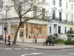 Shopping in Ledbury Road