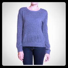 "Pullover. Pullover with knit rib trim. 38% nylon, 33% acrylic, 21% wool, 5% alpaca, 3%spandex. Dry clean only. Approximately 24"" from shoulder to hem. Inhabit Sweaters"