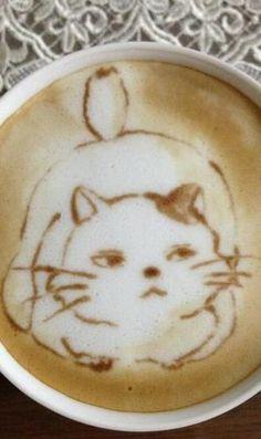 Latte Art  / chottolatte.tumblr.com→follow← my board ♡ͦ* ¢σffєє σвѕєѕѕє∂ ♡ͦ* @ ★☆Danielle ✶ Beasy☆★