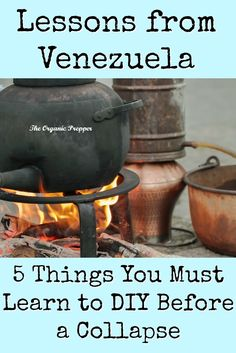 An analysis of the induced scarcity in Venezuela can help preppers decide what to DIY to replace those goodies that suddenly disappeared from the store shelves. These are the 5 things you need to know how to make in the event of a collapse. | The Organic Prepper via @theorganicprepper