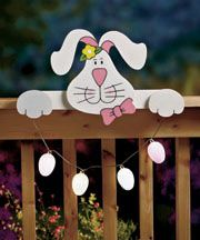 Search Results Page Painted Wood Crafts, Wooden Crafts, Bunny Crafts, Easter Crafts For Kids, Old Wood Doors, Christmas Yard, Wooden Art, Easter Wreaths, Spring Crafts