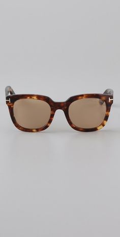 Tom Ford Eyewear Campbell Sunglasses...I need these as my prescription glasses.