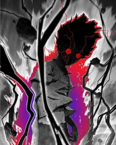 Anime Backgrounds Wallpapers, Animes Wallpapers, Anime Eyes, Anime Demon, Fantasy Character Design, Character Art, Gogeta Ss4, Geeks, Mob Psycho 100 Wallpaper