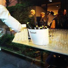 From #vinitaly to #salonedelmobile 💪 #Fantinel #siematic #milano #ribollagialla #sparkling #wine #design #exhibition #winetime #italian #aperitivo #lifestyle