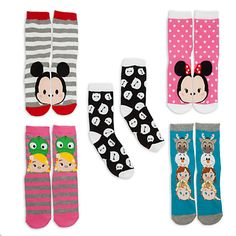 Keep Your Toes Cozy with Disney's Tsum Tsum Sock Set