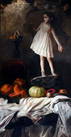 Ocio Inteligente: para vivir mejor: Pintores de hoy (28): GUILLERMO LORCA (Chile, 1984)