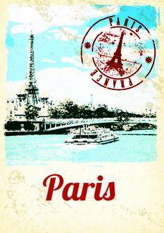Top Table - Paris Postcard