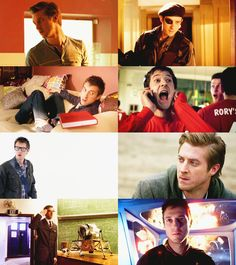 Rory Williams. I wasn't sure if I'd like him at first, but he's really grown on me.