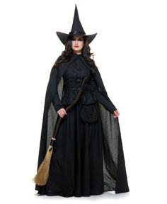 Diy Witch Costume New Wicked Witch Costume Adult Halloween Fancy Dress Witch Costume Adult, Wicked Witch Costume, Witch Costumes, Diy Costumes, Adult Costumes, Devil Costume, Costume Ideas, Witch Hats, Halloween Fancy Dress