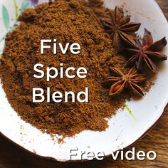 Five Spice Blend recipe for digestion http://explore.learningherbs.com/taste-of-herbs/the-compass-and-cookbook/