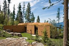 // amazing exterior // Stone Creek Camp by Andersson Wise Architects