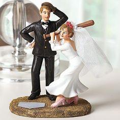 Where To I This Cake Topper Wedding Sports Baseball