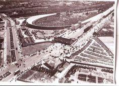 Berlin: Avusrennen Nordkurve am Funkturm (1937)