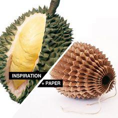 Inspiration + Paper = ZigZagBag by Magdalena Grenda Magdalena, Kirigami, Fruit, Paper, Bag, Creative, Design, Style, Paper Purse
