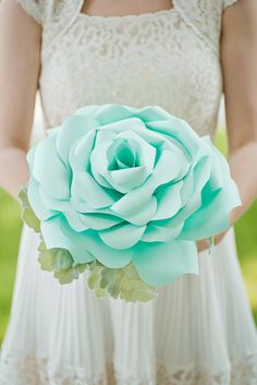 Hey, I found this really awesome Etsy listing at https://www.etsy.com/listing/239585216/custom-seafoam-big-paper-flower-paper