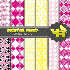 "80% OFF SALE Squares digital paper pack, digital background, scrapbook paper, squares patterns, stripes digital, small commercial use    Squares digital Paper Pack (12x12""-300 dpi) - 12 Digital Papers - PNG Files    This lovely 12x Squares digital paper pack.    These papers will come in handy in any project like Squares scrapbooking, Squares wedding invites, vintage Squares birthday parties, Squarescard making, hand drawn Squares greeting cards,for cards, banners, printing for scrapbooking…"