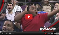 Epic Dance-Off Between Young Fan, Usher
