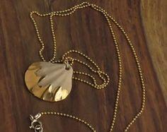 porcelain jewelry beach necklace mermaid by NaniByEttyVardi