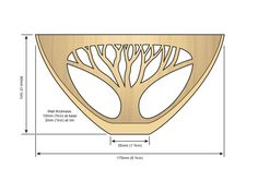 Pyrographed Tree Bowl - Woodturning Magazine - woodworkersinstitute.com;