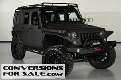 2014 Jeep Wrangler Unlimited Lifted Kevlar Coated Custom Leather