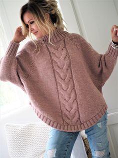 SKU Brand Name Ininrubyshop Pattern Type Plain Season autumn,Winter How to wash MACHINE WASH sleeve_length bust length inch cm inch cm inch cm S 25 64 50 128 29 74 M 26 65 52 132 30 76 L 26 66 54 136 31 78 XL 26 67 55 140 31 80 27 68 57 144 32 82 Pullover Mode, Pullover Sweaters, Knit Sweaters, Poncho Sweater, Winter Sweaters, Sweaters For Women, Bat Sleeve, Long Sleeve, High Collar