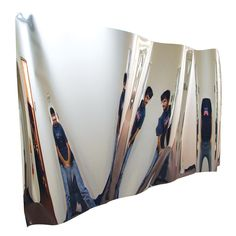 Jumbo Fun House Mirror | Convex and Concave Mirrors | Optics